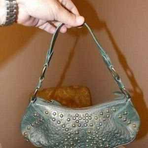 Cole Haan Riveted Leather Smaller Size Handbag